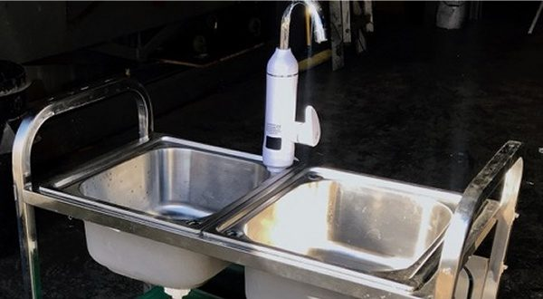 Twin Mobile Sink Unit